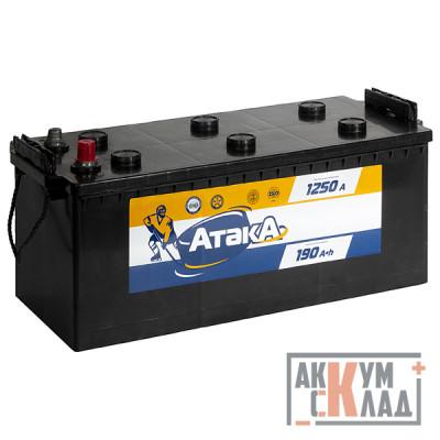 Аккумулятор Атака  6CT-190 N(4) РОС. Конус