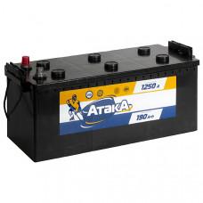 Аккумулятор Атака  6CT-190 Евро. Конус 1250А 513*223*223