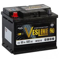 Аккумулятор VESLINE  60Ah п.п. 500A 242*175*190