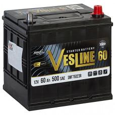 Аккумулятор VESLINE AZIA 60Ah о.п. 500A D23 232*173*225