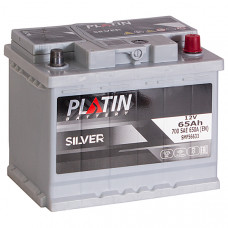 Аккумулятор PLATIN SILVER  65Ah о.п. 700/640A 242*175*190