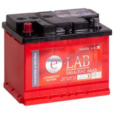 Аккумулятор E-LAB  60Ah п.п. 580EN 242*175*190 L2