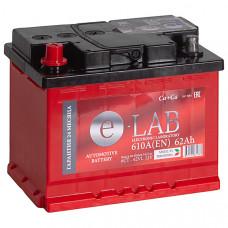 Аккумулятор E-LAB  62Ah п.п. 610EN 242*175*190 L2