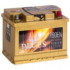 Аккумулятор DECUS  66Ah о.п. 760EN 242*175*190 L2