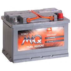 Аккумулятор MAQ Power  75Ah о.п. 650SAE/600EN 278*175*190