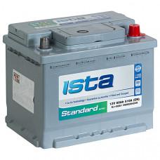 Аккумулятор ISTA STANDART 6СТ- 60 А/ч о.п. 510А 242*175*190