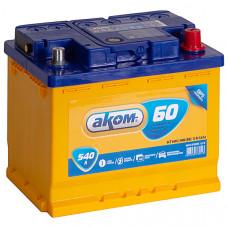Аккумулятор АКОМ 60 о.п. Ca/Ca 540А 242*175*190